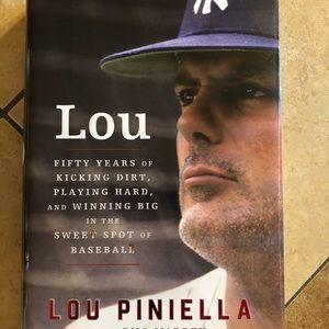"Lou Pinella autobiography ""Lou"""